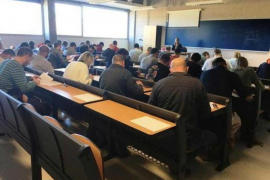 Hundreds sit exam to become EMT bus drivers