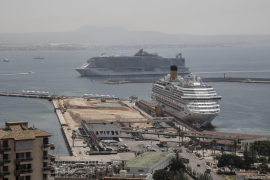 Limit to cruise ships in Palma's port on the agenda