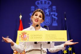 Labour Minister Yolanda Diaz