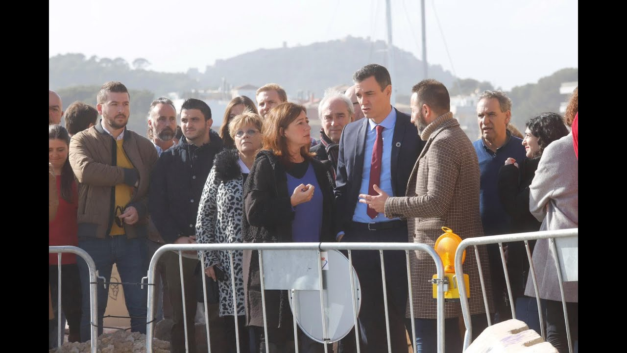 Spanish Prime Minister visits storm disaster zone