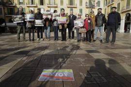 "Manifesto ""to rescue"" Palma's Plaça Major"