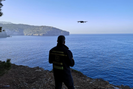Police using drones in search for missing Majorcan