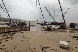 The week of the storm in Majorca