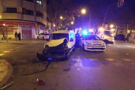 Four pedestrians injured following Palma collision