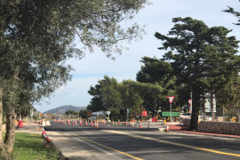 Overnight road closure on Palma to Alcudia road