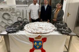 A birthday ensaimada for King Felipe