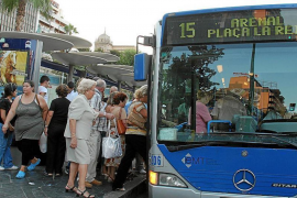 Palma Bus Protest