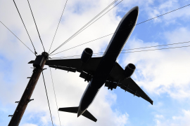 Balearic to UK flight warning
