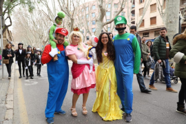 Carnival comes early to Palma