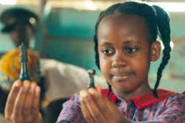 Nikita Pearl Waligwa played Gloria in the Disney movie 'Queen of Katwe'.