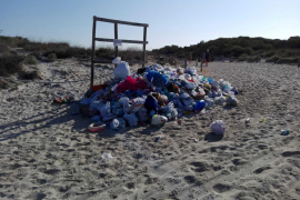 Eighty per cent of beach rubbish is plastic
