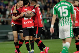Golden point for Real Mallorca