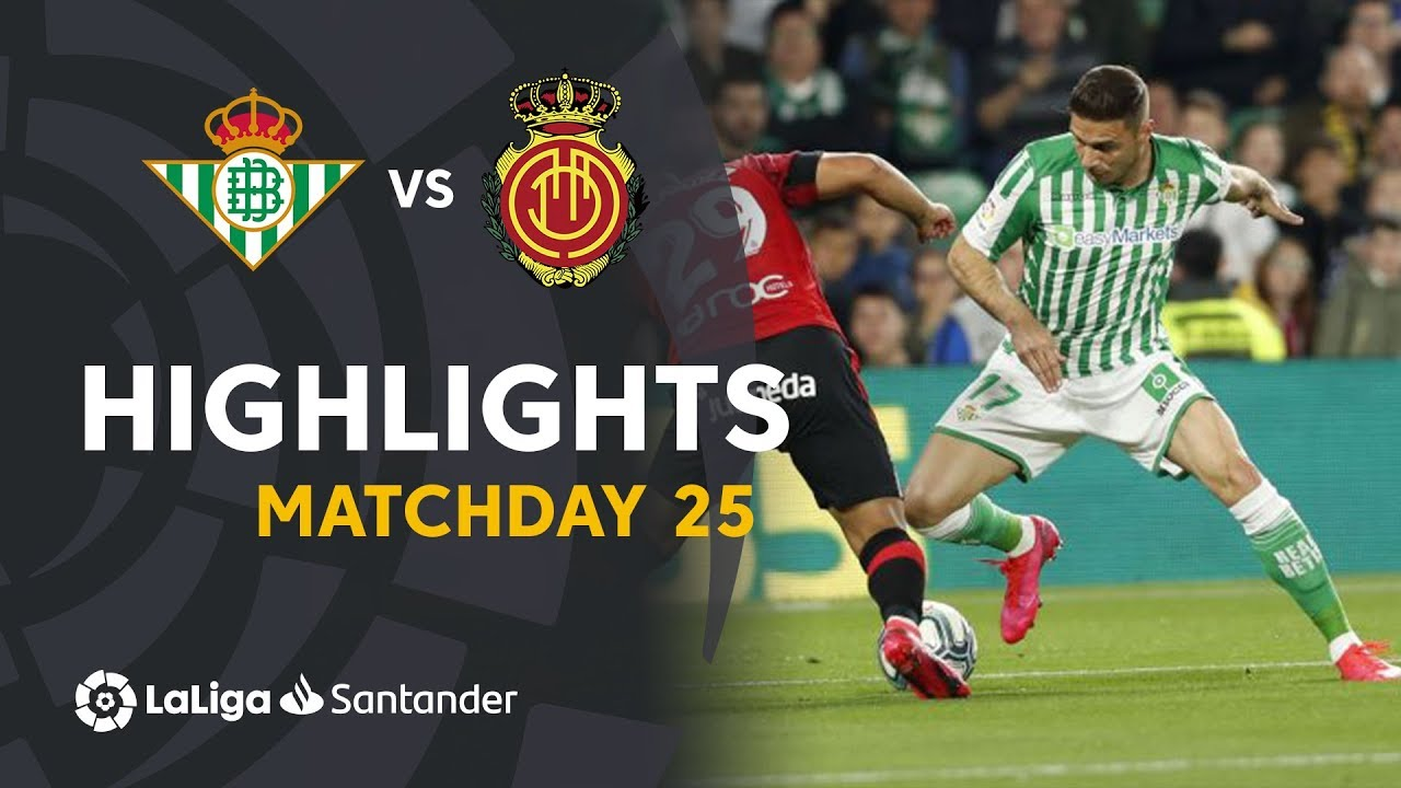 Video highlights between Real Mallorca and Real Betis