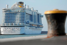 The 'Costa Smeralda' cruise ship, which arrives in Palma on Tuesday can hold 6,600 passengers and crew. A passenger with coronavirus symptoms tested negative. All cruise ships that stop in Palma leave from Italian ports.
