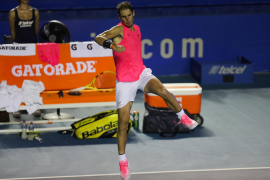 Majorca's Nadal one win away from Acapulco Hat Trick