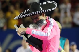 Nadal beats Fritz to win title in Acapulco