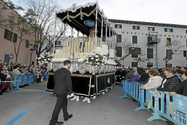 Holy Week Procession detour