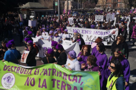 Thousands take part in Palma women's day rally