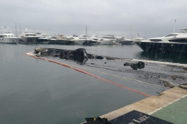 Luxury Yacht is a total Write Off