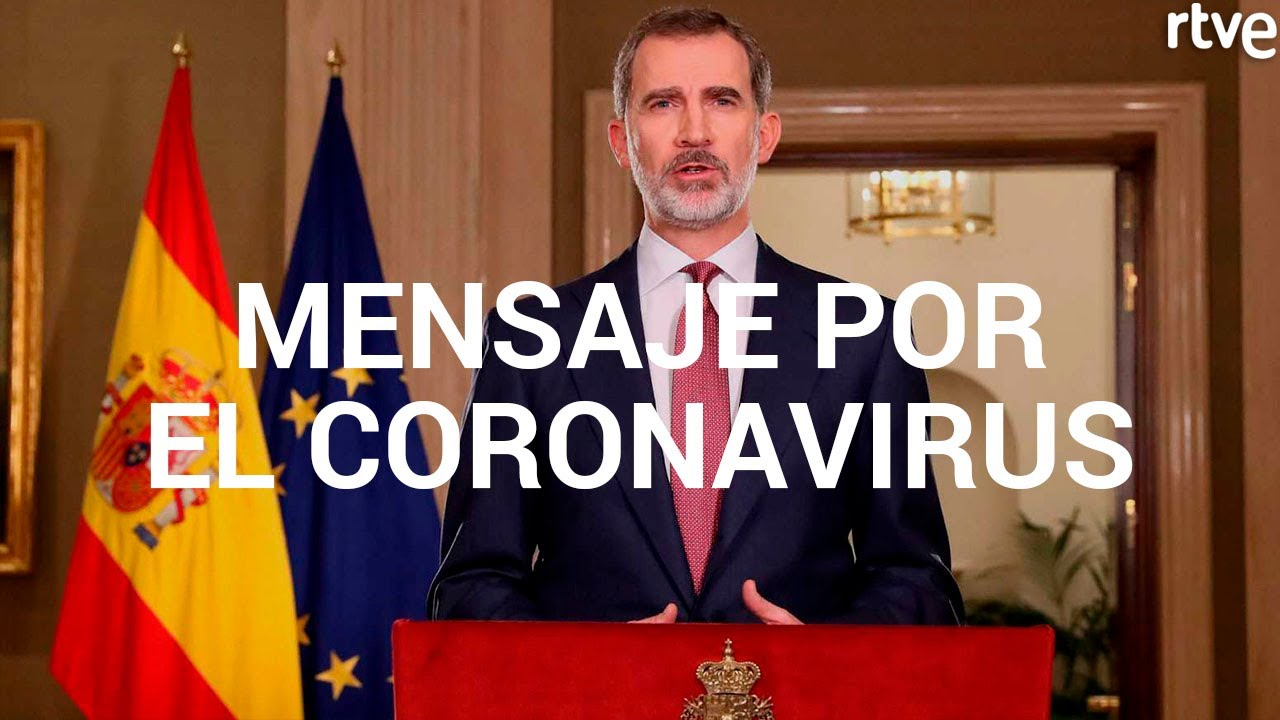 King Felipe appeals for unity in defeating coronavirus