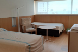 First patients are transferred to Meliá hotel
