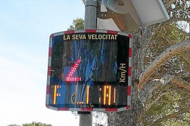 Son Servera speed radars for improving road safety