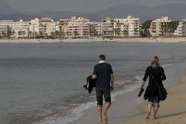 Foreign tourism in the Balearics in February increased slightly