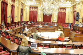 Balearic parliament is suspended