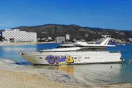 Son Maties yacht still not moving