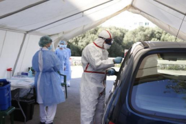 """Express"" tests for coronavirus in Minorca"