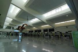 Twenty-six passengers a day at Minorca Airport