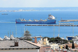 Luxury yacht cargo ships still arriving in Palma