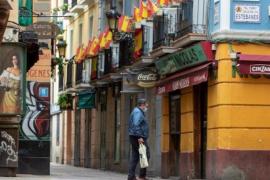 Daily coronavirus fatalities fall below 400 in Spain.