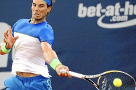 Nadal battles on