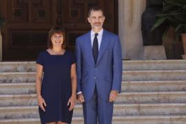 """President Armengol hails King Felipe's """"respect"""""""