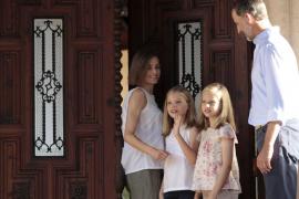 Royal Family enjoying their Majorcan holiday
