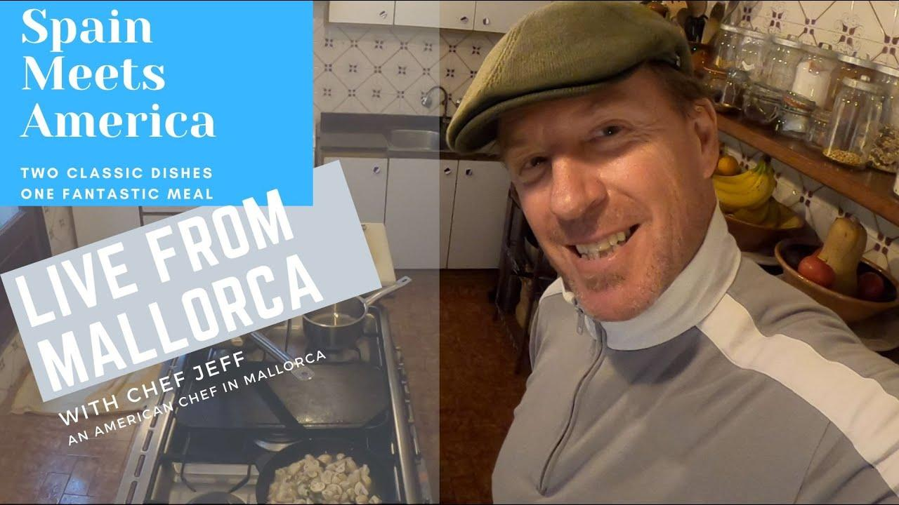 Get cooking with the American chef in Majorca