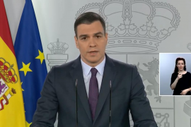 Sánchez: Going out to exercise to be permitted from 2 May