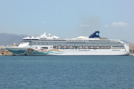 Cruise ship operations in Palma down at least 60% this year