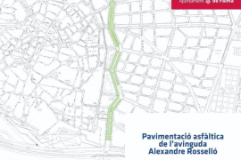 Resurfacing work on Palma's Avenidas starts on Monday