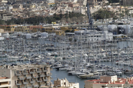 Owners can check on boats in Palma