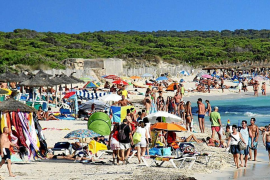 Uncertainty over Es Trenc beach services