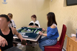 Police raid mahjong gambling den in Palma