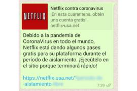 Cybercriminals pretending to be from Netflix