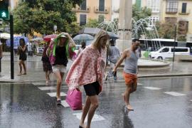 August has been wet, but not that wet