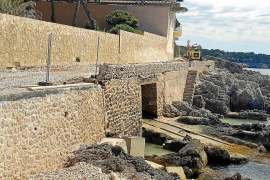 Cala Ratjada Storm Gloria repairs to finish in early July
