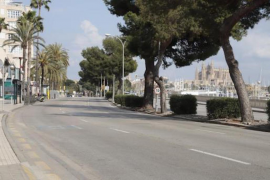 Major roadworks on the Paseo Marítimo in 2021