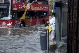 Massive storm floods much of Majorca