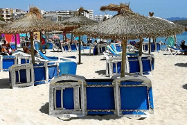 No sunloungers for Manacor beaches this summer