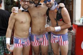 Bunyola celebrates its fiestas dressed in underwear